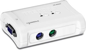 TRENDnet TK-205K 2-Port PS/2 KVM Switch Kit